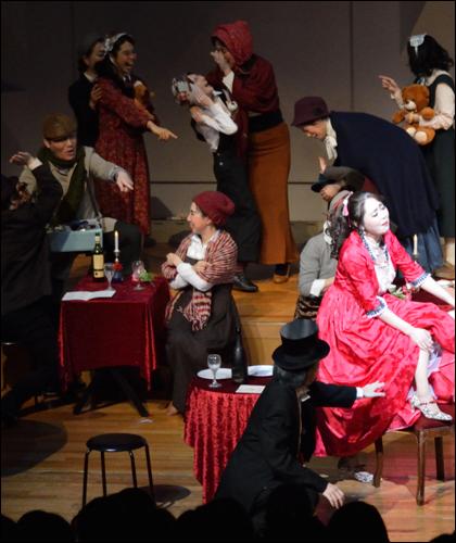 おぺら団「フレスカリア」|第21回公演:「ラ ボエーム」第2幕より